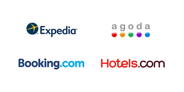 外資系旅行サイトのロゴ